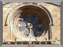 Rosetn de la Iglesia de Santo Domingo de Soria