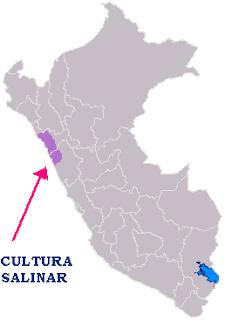 ubicacion de la cultura Salinar
