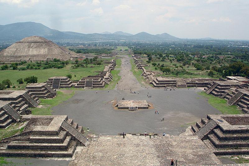 Ciudad de teotihuacán