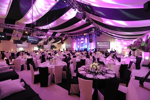 Black and White Party Decoration Ideas