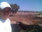 Rogerio na Escavação da área do Sub-bairro do Juremão no Lote XV