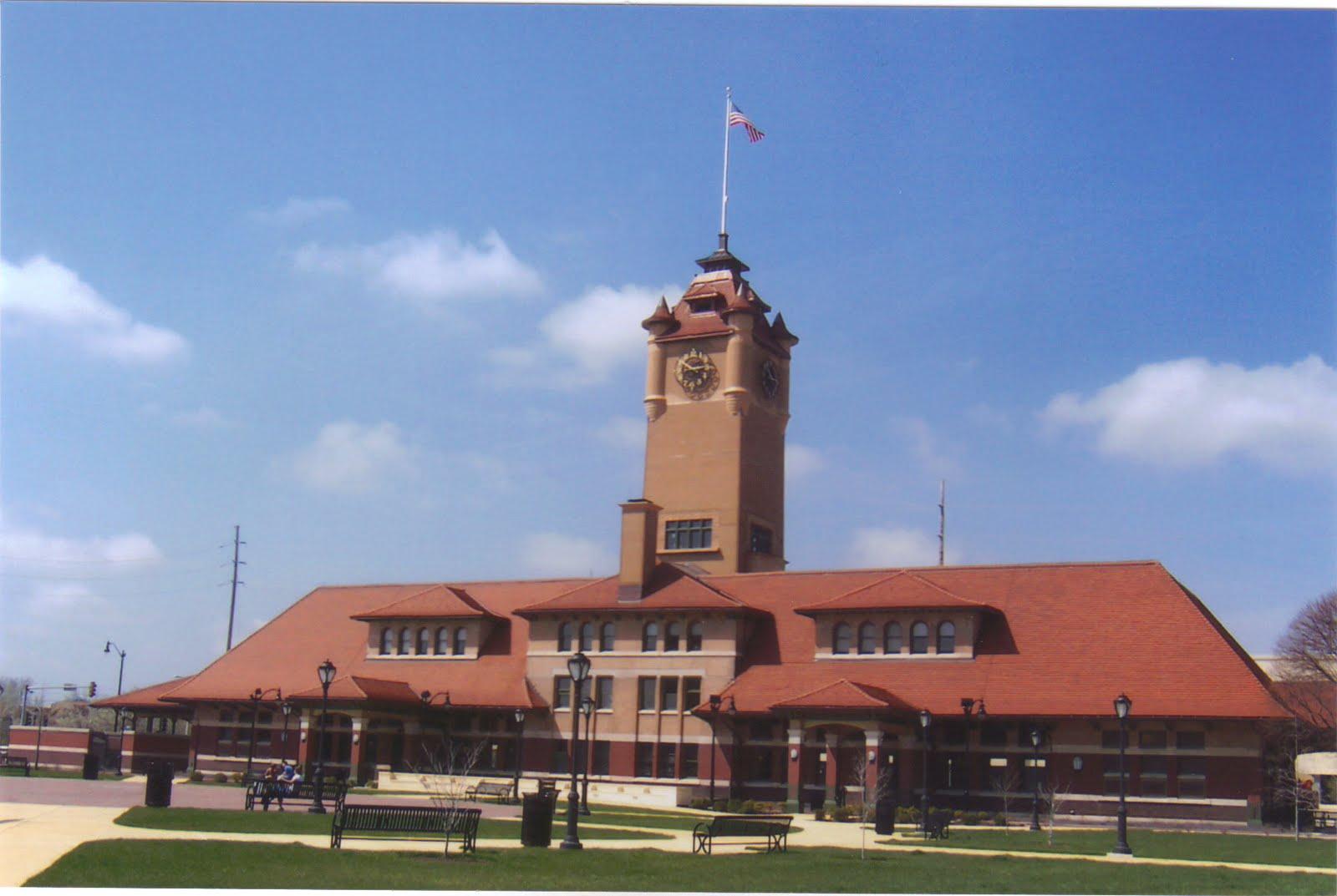 Big Daddy Dave Railroad Depots Photo Album