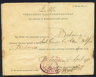 Ini Dia Bentuk Ktp Jaman Penjajahan Belanda [ www.BlogApaAja.com ]