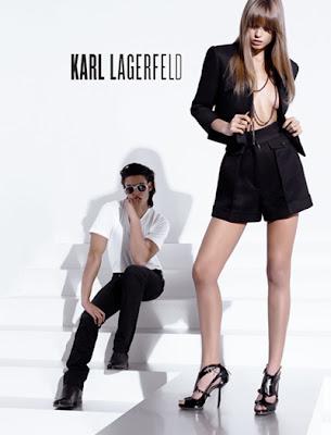 сиво - Облекло, мода, елегантност - Page 2 Karl+Lagerfeld+++Spring+Summer+2010+-5