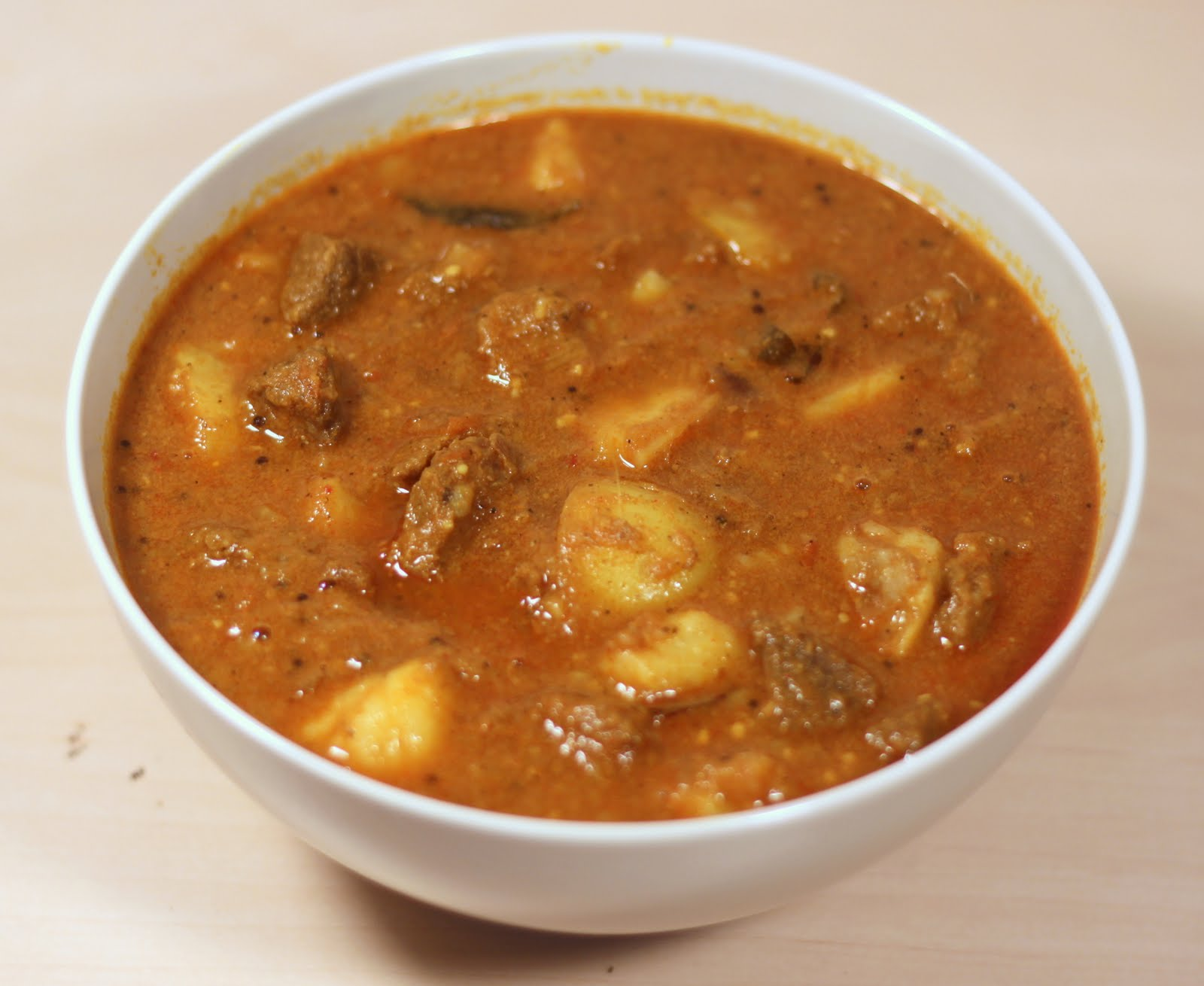 Beef Curry Spicy beef curry