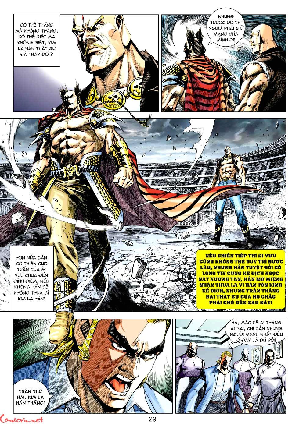 Vương Phong Lôi 1 chap 30 - Trang 26