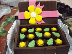 Kotak coklat (4 SEGI)