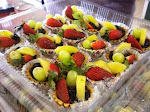 TART BUAH KASTARD @ COKLAT