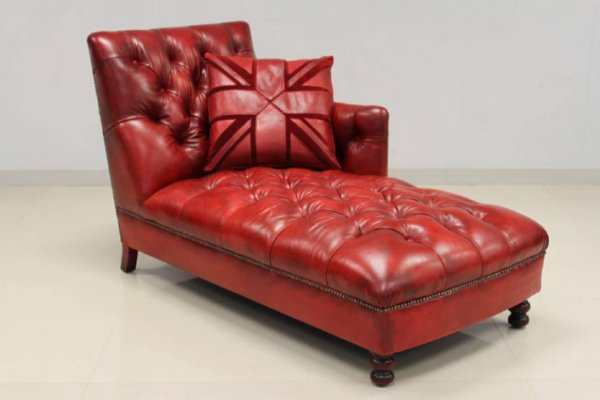 small leather chaise lounge small bed sofa furniture leather