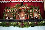 foto pelaminan wahyu dekorasi