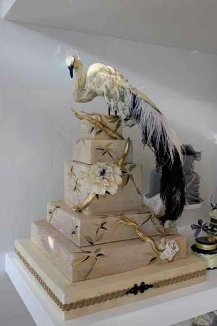 small gothic wedding cakes