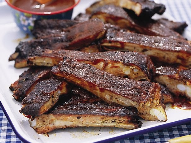 ... Yummy! Yummy!: Memphis-Style Hickory-Smoked Beef and Pork Ribs Recipe