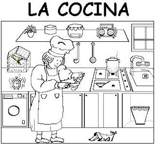 Mi clase de primer ciclo la cocina y sus elementos for Elementos cocina