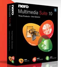 Nero Multimedia Suite 10 (standart) + Serial Number
