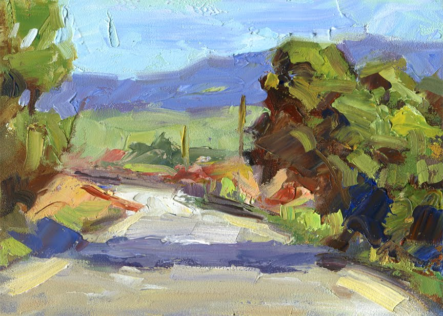 Palette Knife Painting Video By Tom