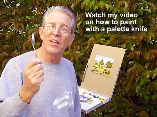 Palette knife painters