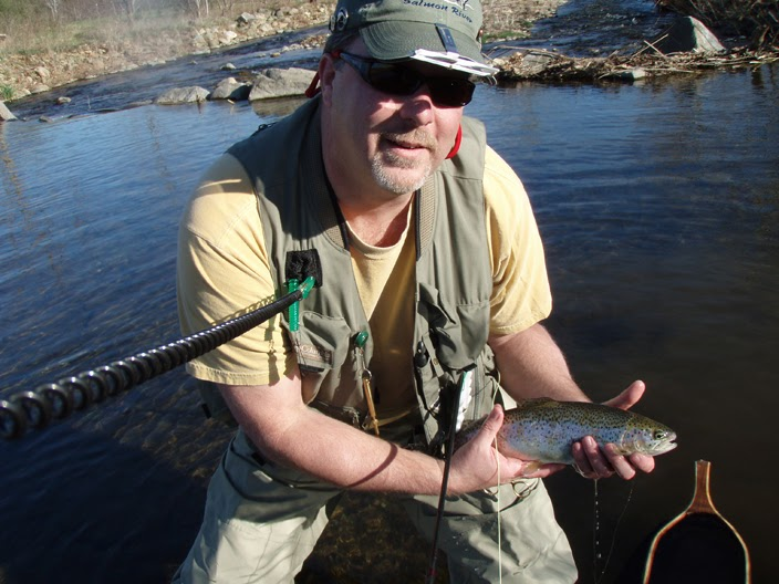 Flyfishin 39 awesome trout fishing at rose river farm for Trout farm fishing near me