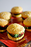 Cheeseburger Cupcakes by Jessica Bosch