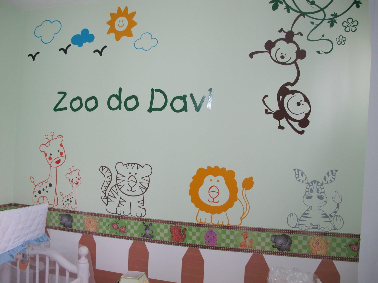 Adesivos De Parede Para Quarto De Bebe Tema Safari Redival Com ~ Decoração De Quarto De Bebe Bichinhos Da Floresta