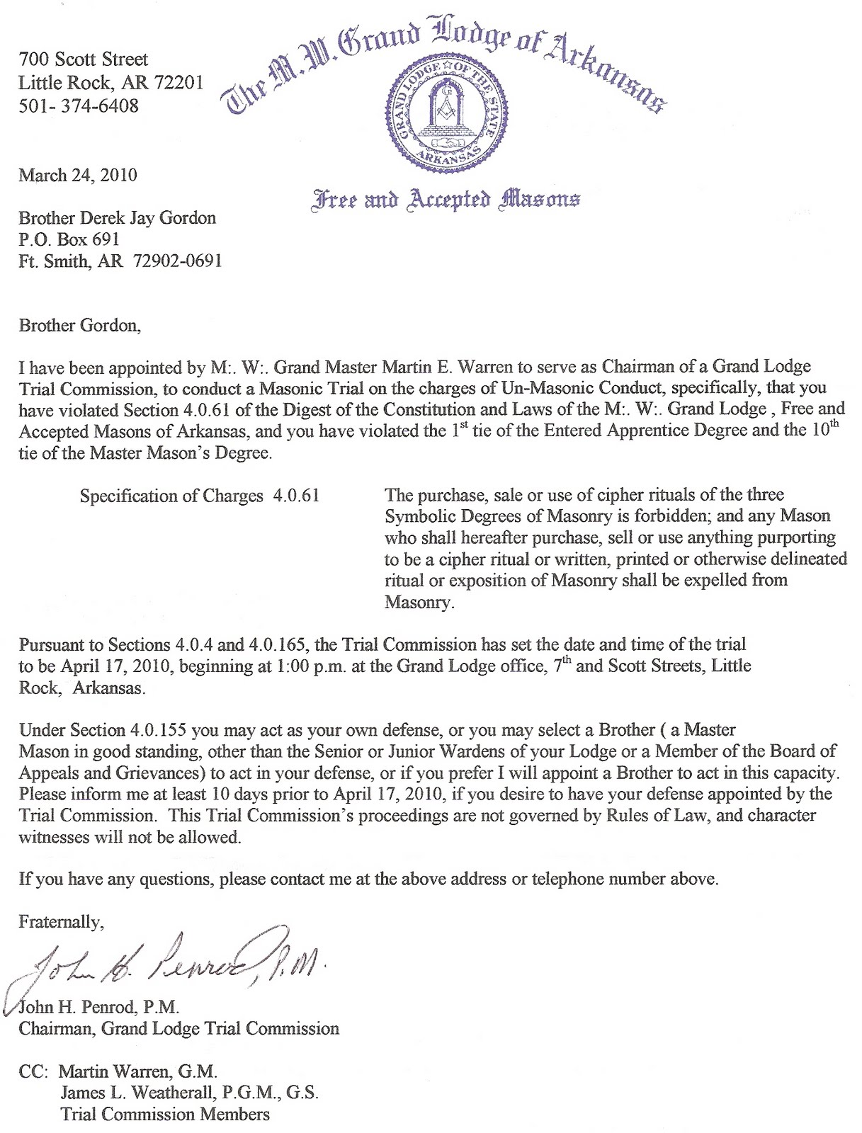 The burning taper gl of ars letter to bro derek gordon gl of ars letter to bro derek gordon altavistaventures Images