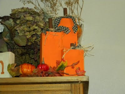 Go Ahead Amp Craft More Wood Pumpkins