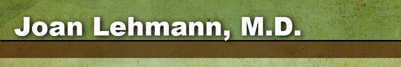 Joan Lehmann, M.D.
