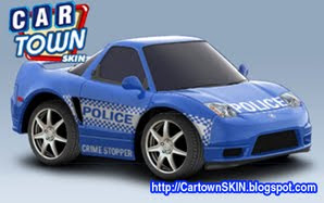 2004 Acura on Crime Stopper Skin For 2004 Acura Nsx   Custom Cartown Skin Graphics