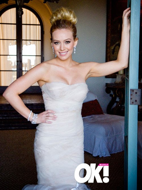 hilary duff wedding pics. hilary duff wedding dress.