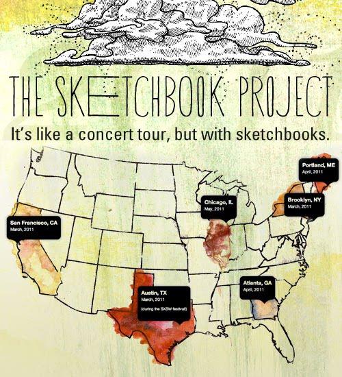The Sketchbook Project  The+Sketchbook+Project+2011+-+MAP