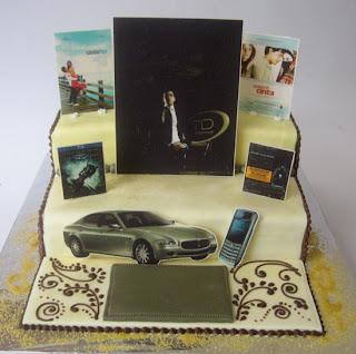 Cake Images Manoj : cake miracle by peni respati: cake for mr. manoj punjabi
