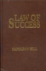 """The Law of Success"" 1925 Book"