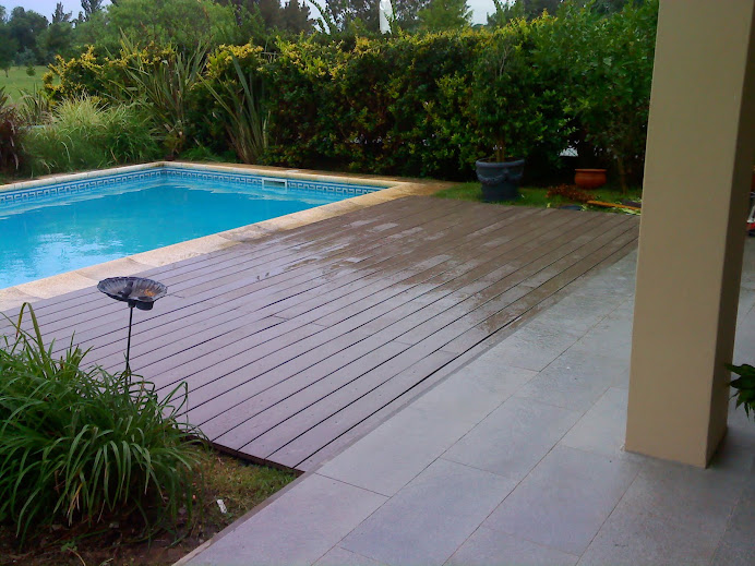 Deck en Country Pacheco Golf