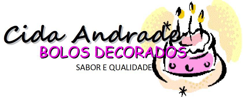 Aparecida Andrade- Bolos Decorados