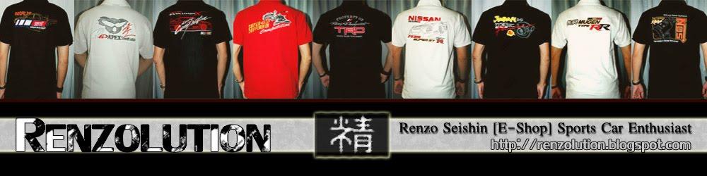 <center>RENZOLUTION [THE E-SHOP] BY RENZO SEISHIN</center>
