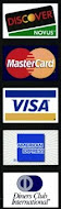 We Now Take Credit Cards!