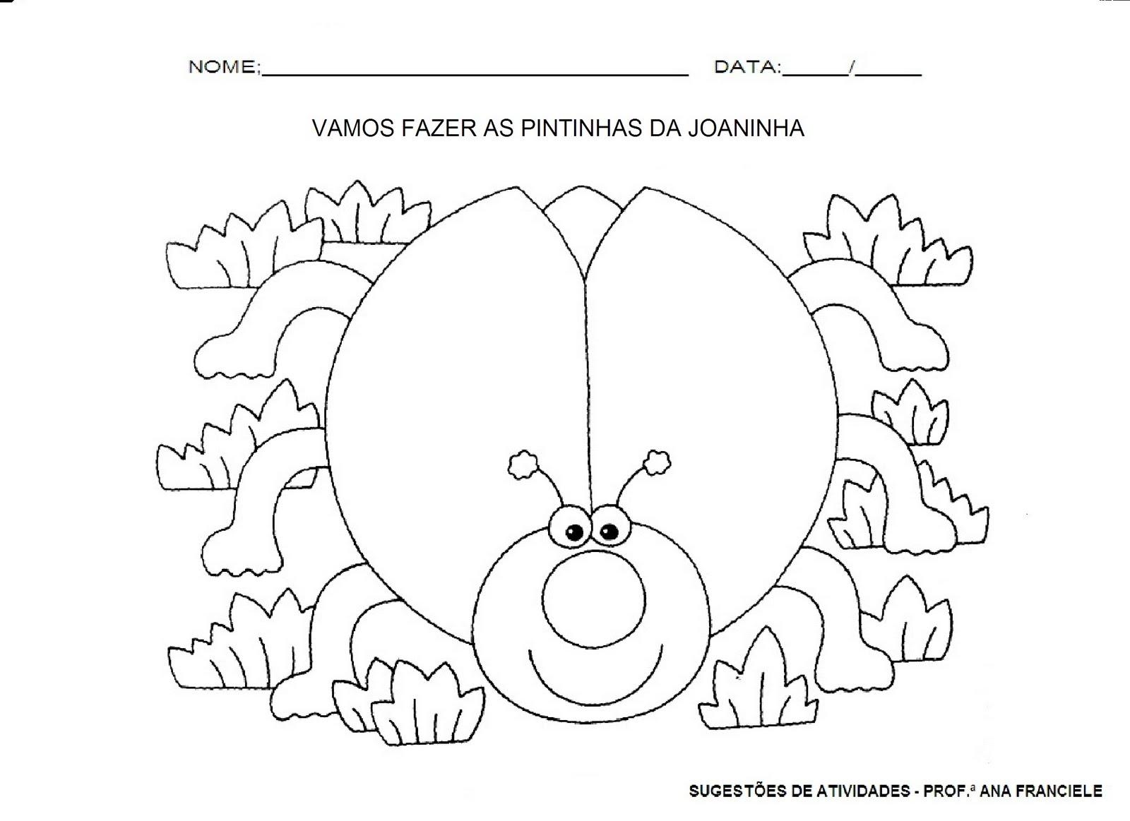 Well-known Sugestões de Atividades .. Prof.ª Ana Franciele: Atividades  CG69