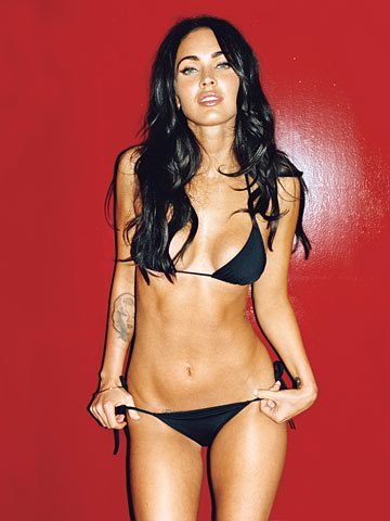 sexy naked megan fox