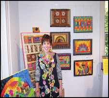 My Quilts on display .... Worthington Art Gallery: