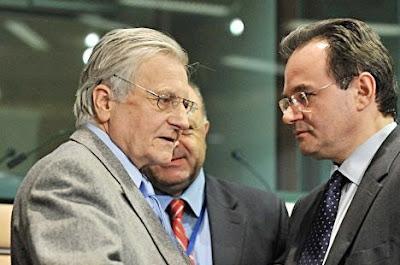 Jean-Claude Trichet Georges Papaconstantinou