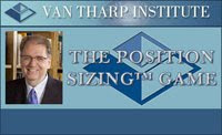 Van Tharp Position Sizing Game