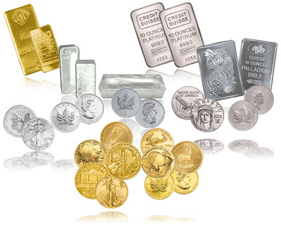 Gold Silver Bullion Coins