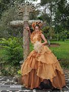 Nicole luce vestidos de xv años diseñados por Jhonny Rojas