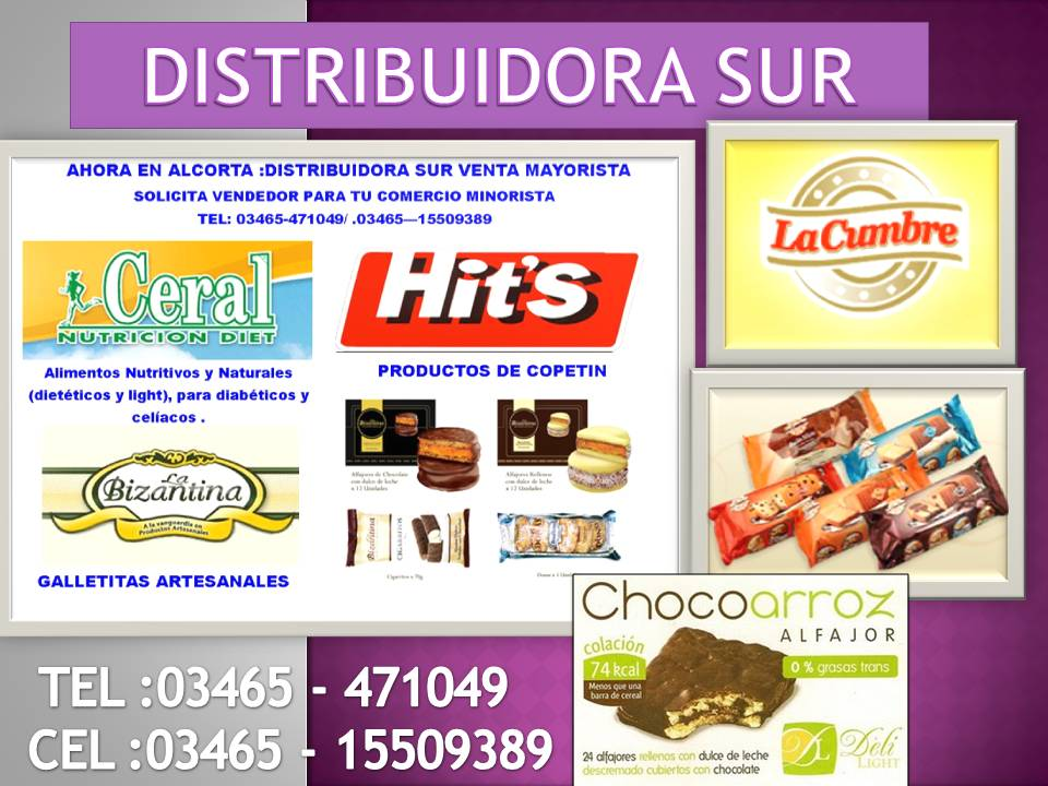 Distribuidora sur Alcorta Santa fe