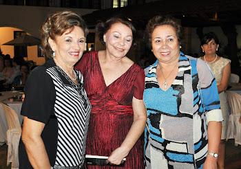 Giselda, Leda Costa Lima e Evan Bessa