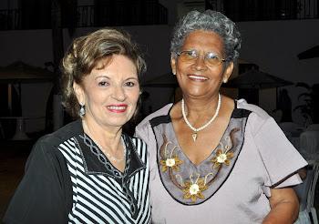 A Autora e Francinete Azevedo