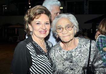 Giselda Medeiros e Neide Freire