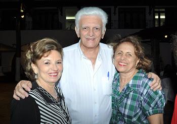 Giselda, Dr. Maurício Benevides e Rose