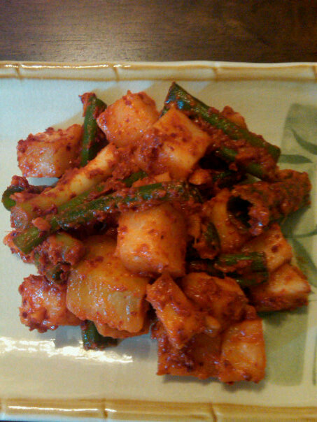 Welcome to Jinkzz's Kitchen: Kkakdugi ( Radish Kimchi)