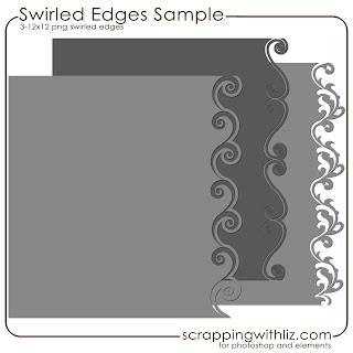 http://www.scrappingwithliz.com/2009/06/swirled-edges-freebie.html
