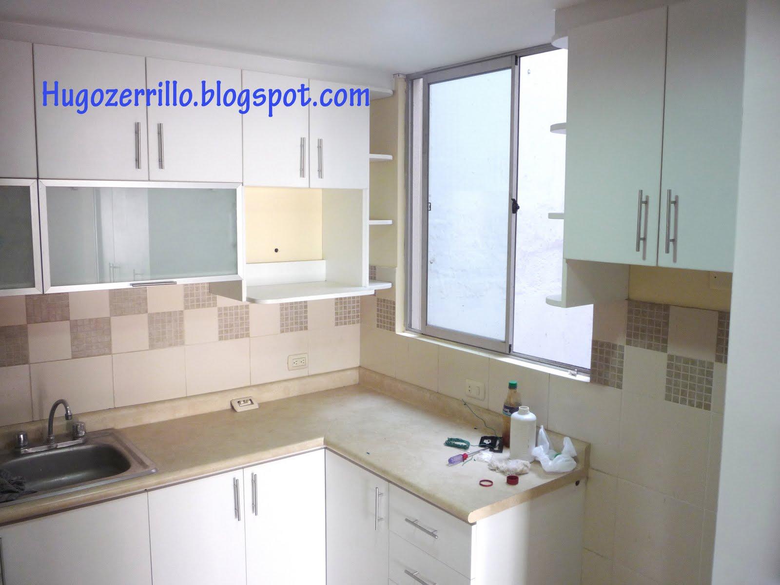 Muebles de melamine galeria cocinas for Gabinetes de cocina en melamina